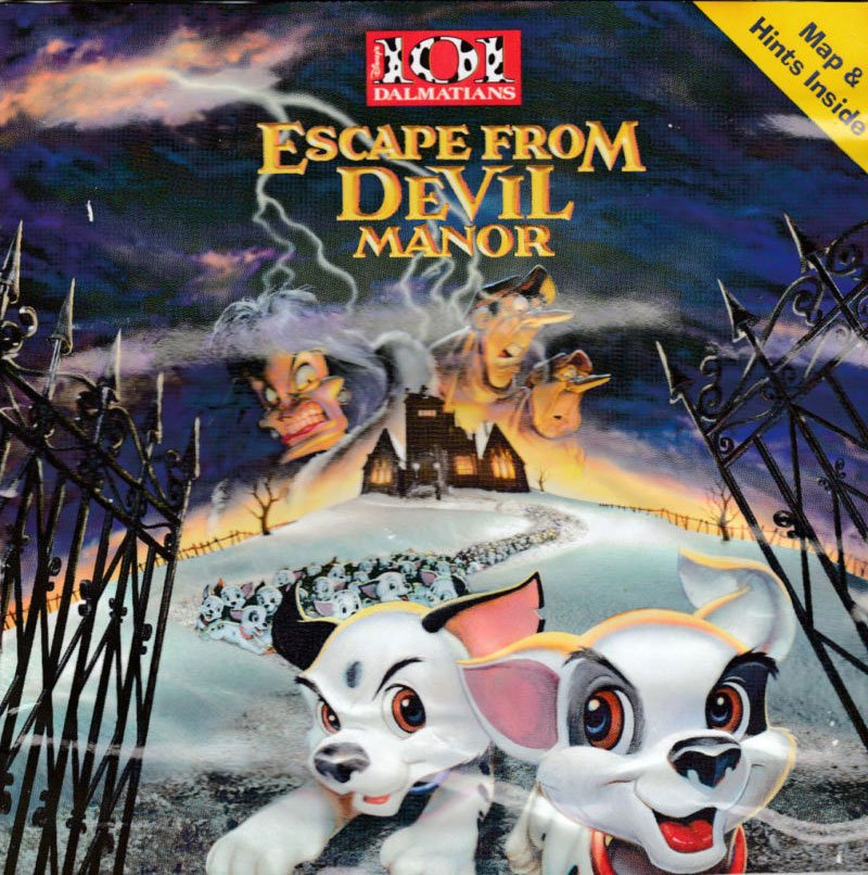 Portada de la descarga de 101 Dalmatians: Escape from DeVil Manor