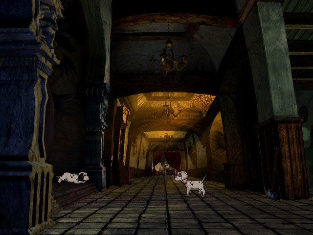 Imagen de la descarga de 101 Dalmatians: Escape from DeVil Manor