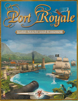 Portada de la descarga de Port Royale (GOG)