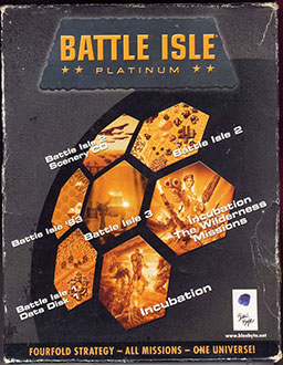 Portada de la descarga de Battle Isle: Platinum (GOG)