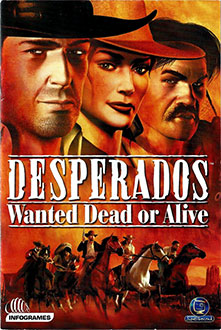 Portada de la descarga de Desperados: Wanted Dead or Alive (GOG)