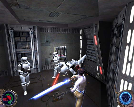 Imagen de la descarga de Star Wars: Jedi Knight II – Jedi Outcast (GOG)