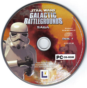 Imagen de icono del Black Box Star Wars: Galactic Battlegrounds Saga (GOG)