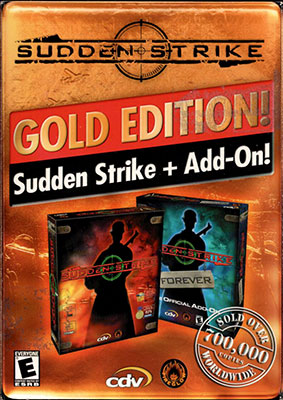 Portada de la descarga de Sudden Strike Gold (GOG)